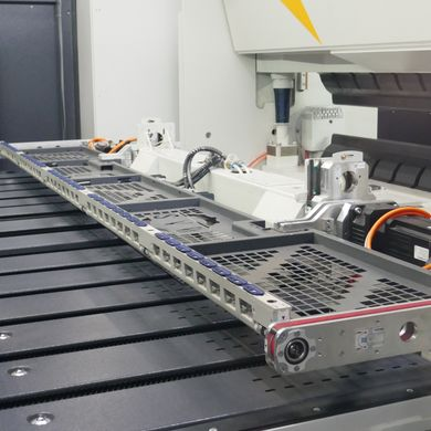 Flexible part handling system