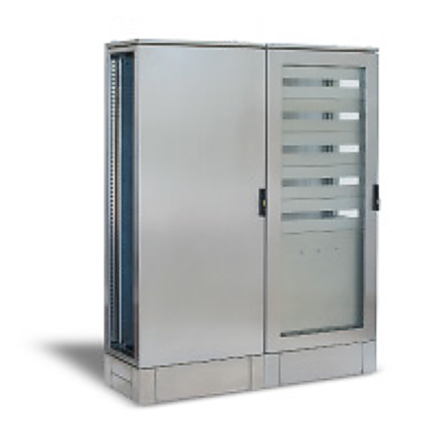 Stainless steel electrical cabinet