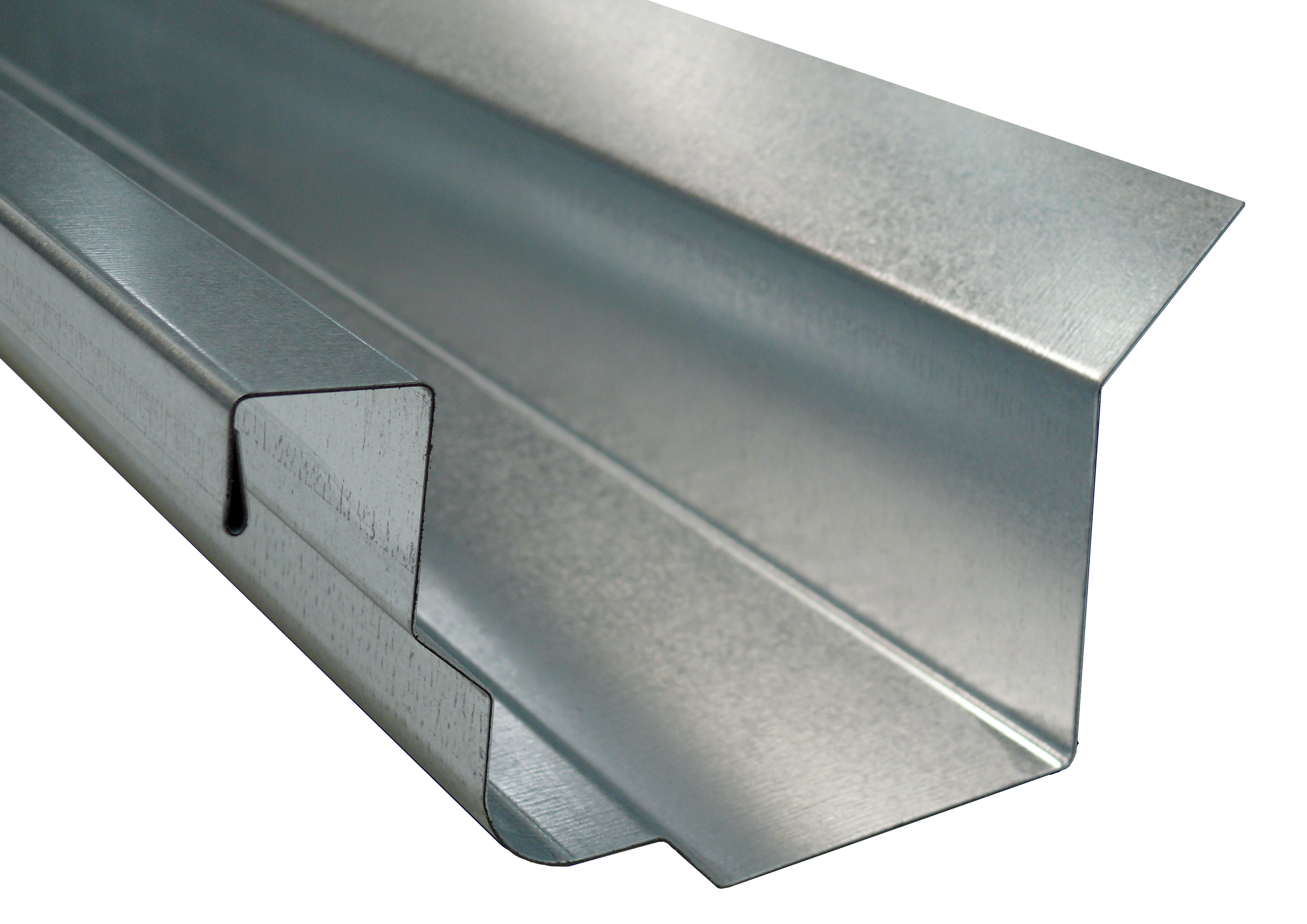 Gutter with radius